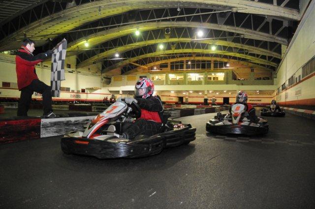 stag night - karting - indoor - wakefield - west yorkshire