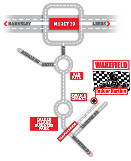 directions - karting - wakefield - west yorkshire